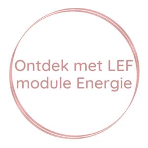 Ontdek met LEF | module Energie